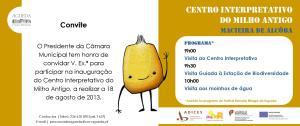 Convite_Inauguracao CIMA com logos